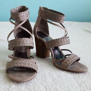 Carlos Santana thick heels